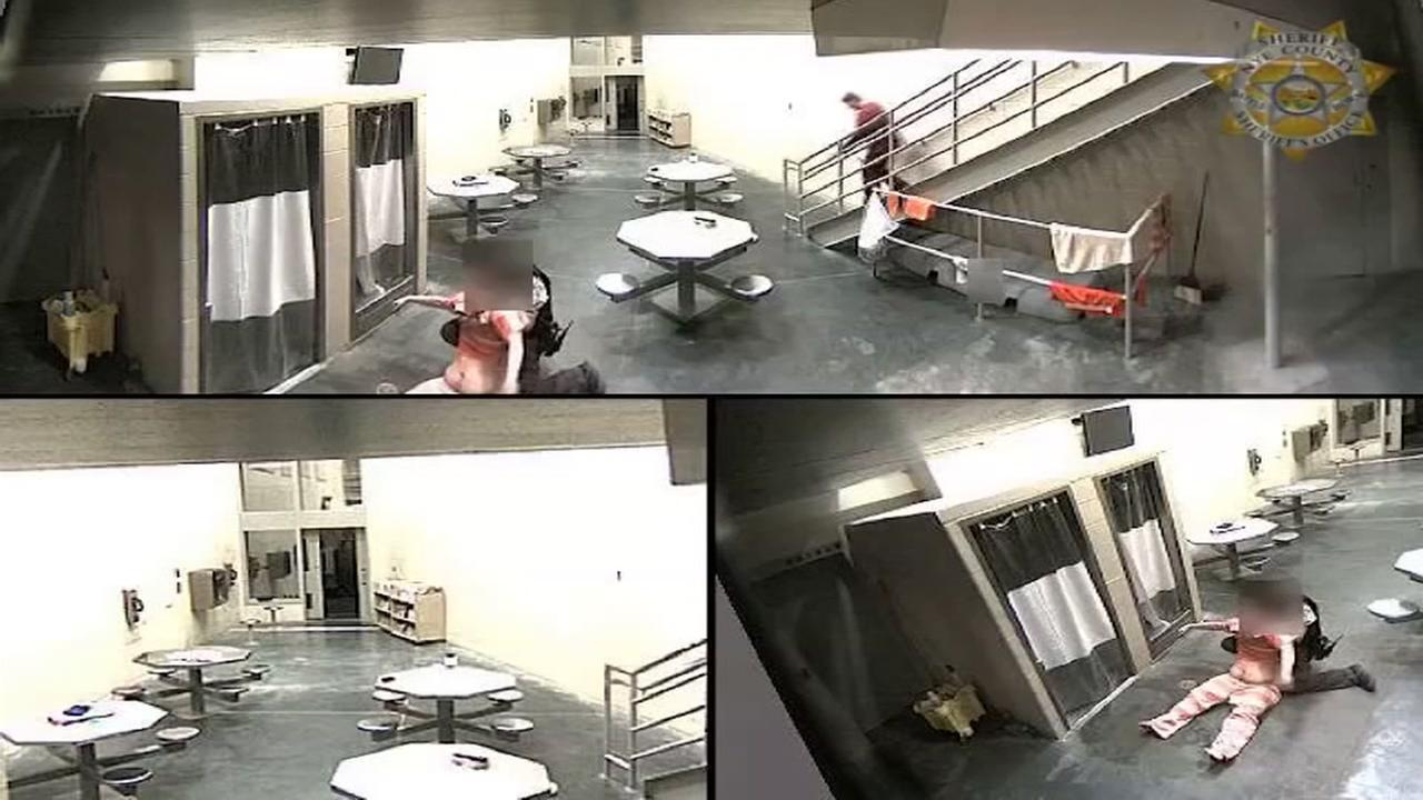 Deputies at Nevada prison credited for saving inmate who jumped