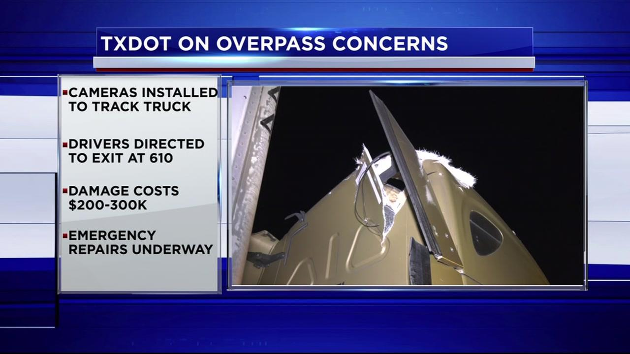 TxDOT addressing overpass concerns on Houston Avenue
