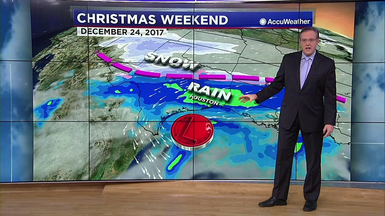 Christmas weekend forecast