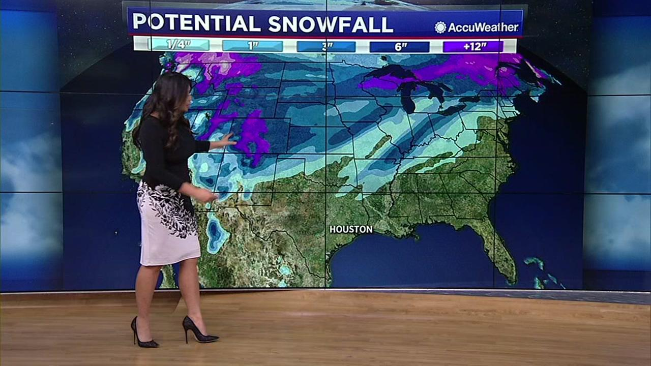 Potential travel problems across Texas Christmas weekend