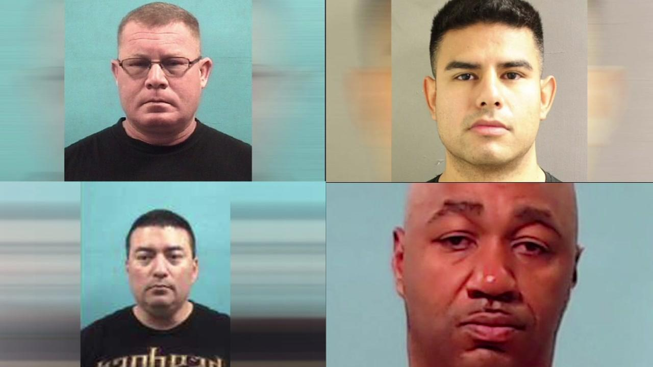 Recent arrests of public servants around Houston area