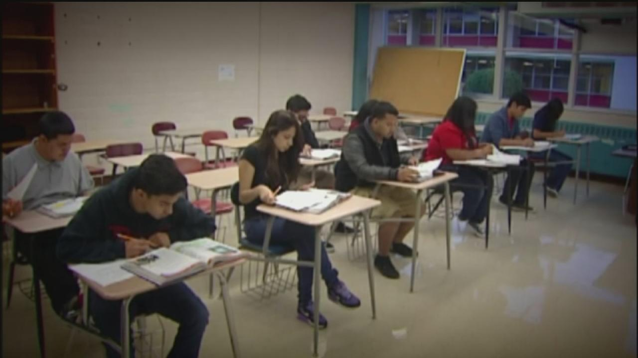 Students prepare for first day of school