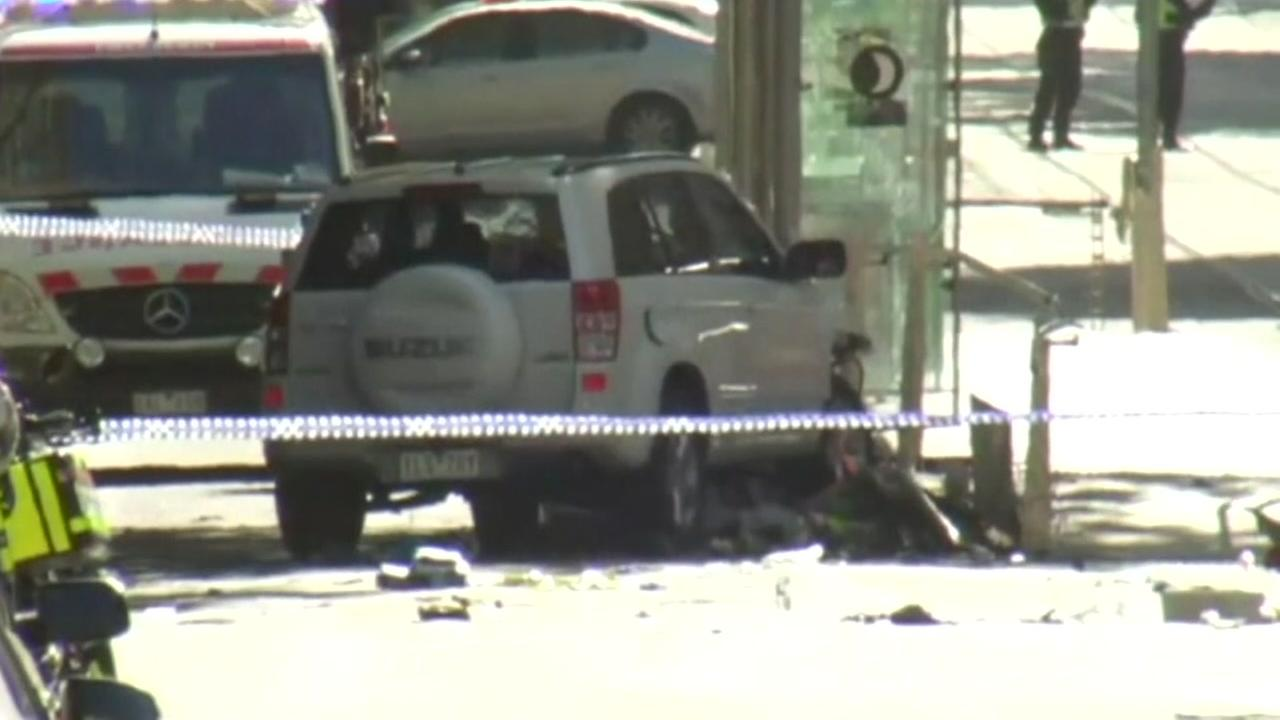 Car rams into crowd in Melbourne, Australia
