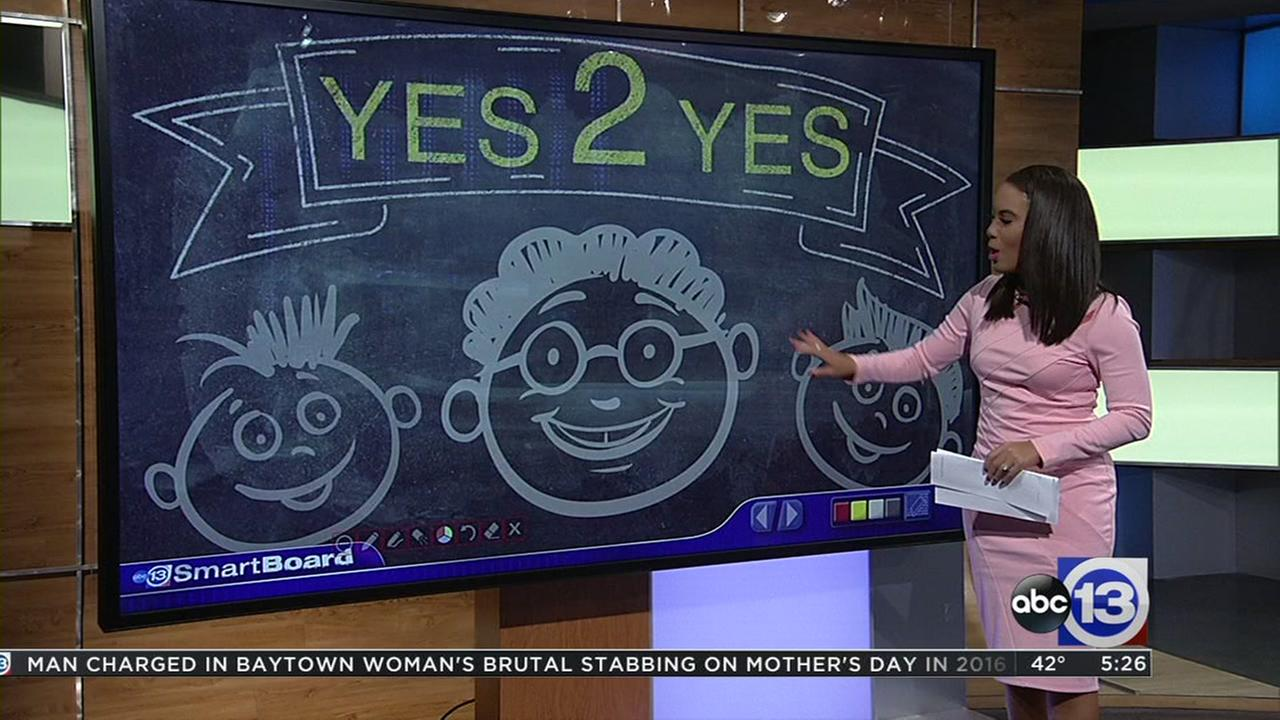 Parents try Yes 2 Yes with children