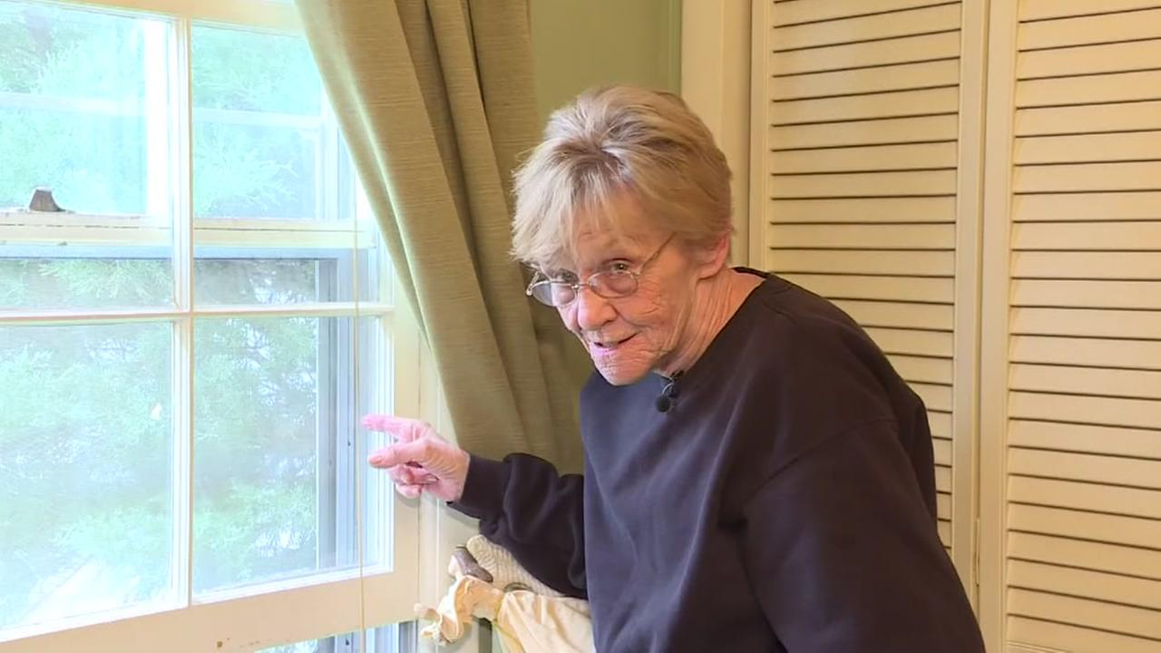 Grandma scares off home intruder
