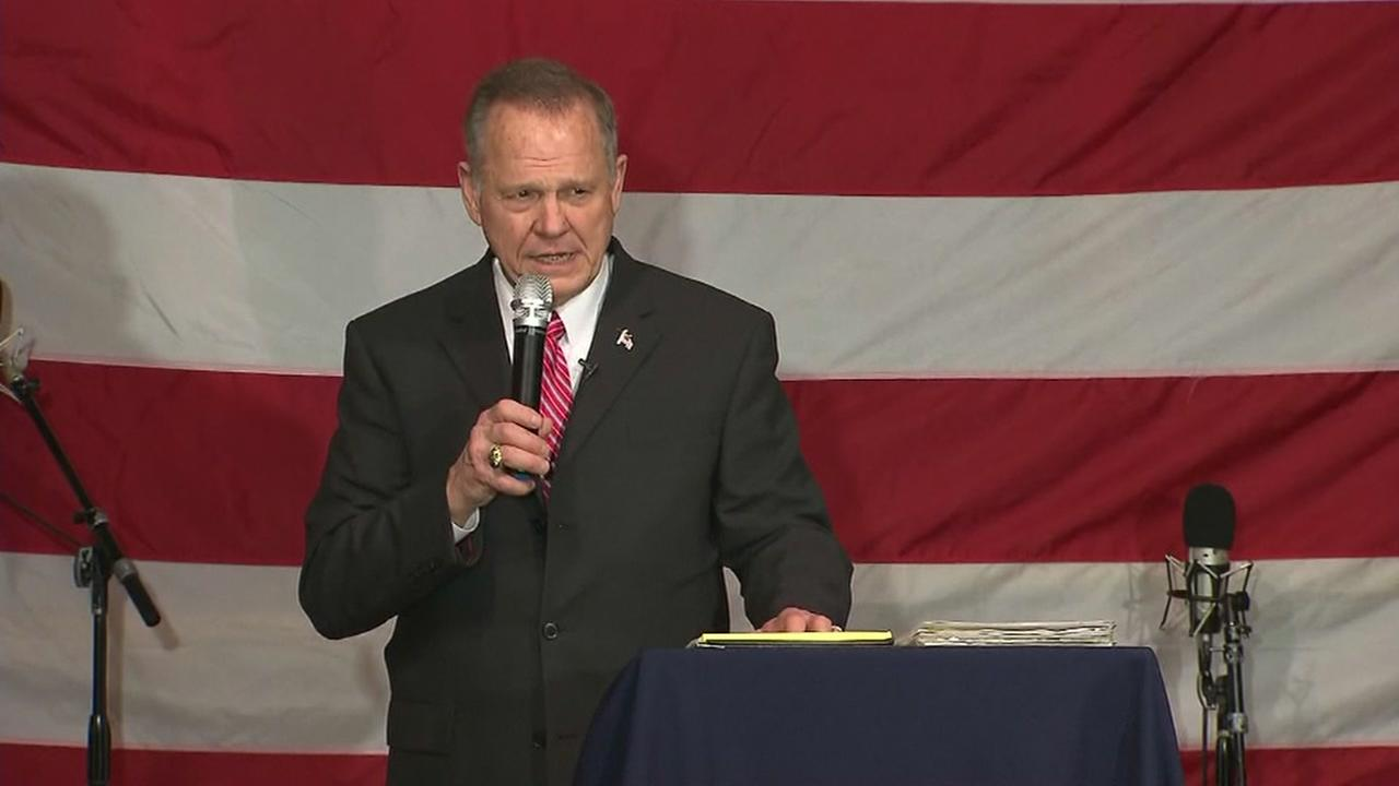 Roy Moore suing to stop certification of AL senate defeat