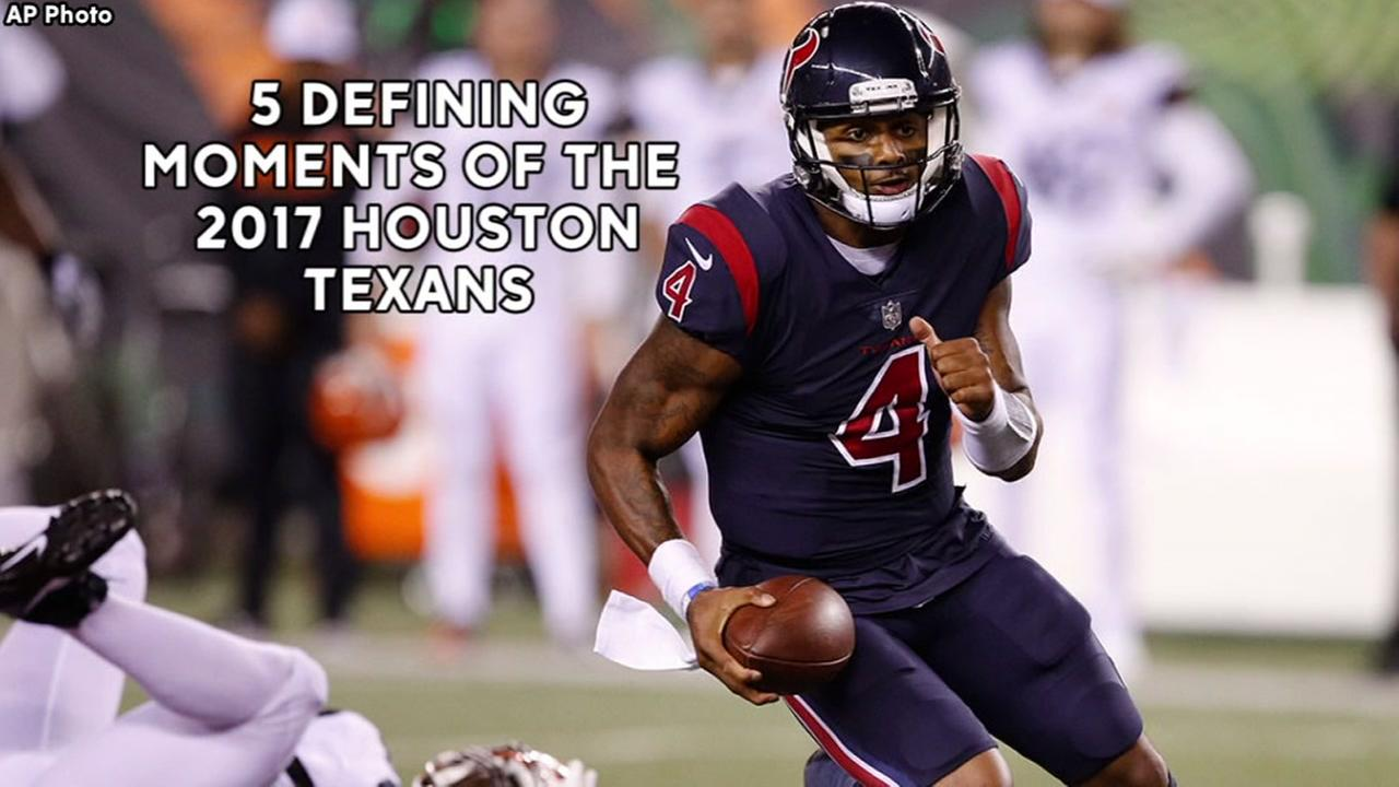 The 5 defining moments of the 2017 Houston Texans
