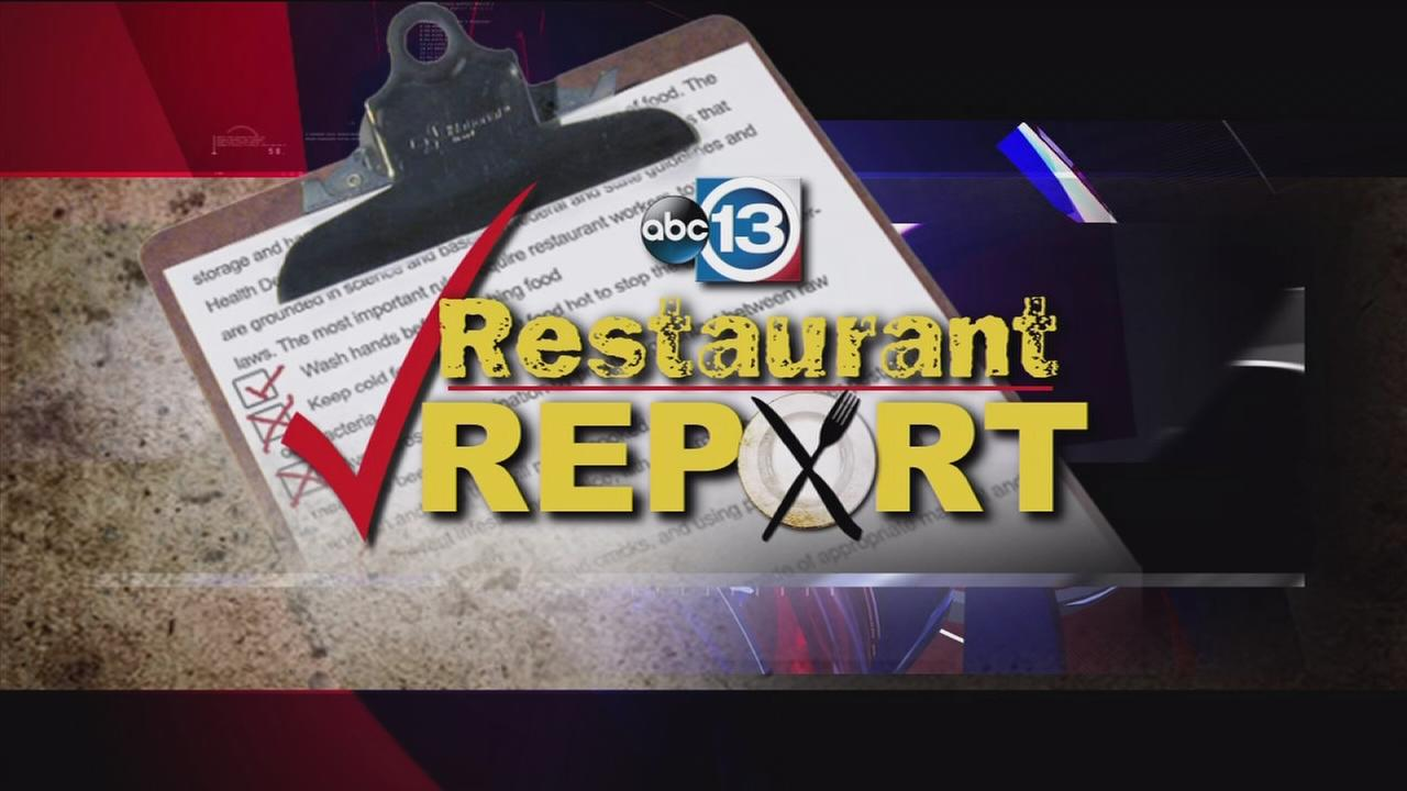 Houston restaurant report as of August 25