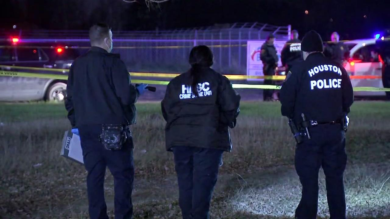 Man found in a field with multiple gunshot wounds