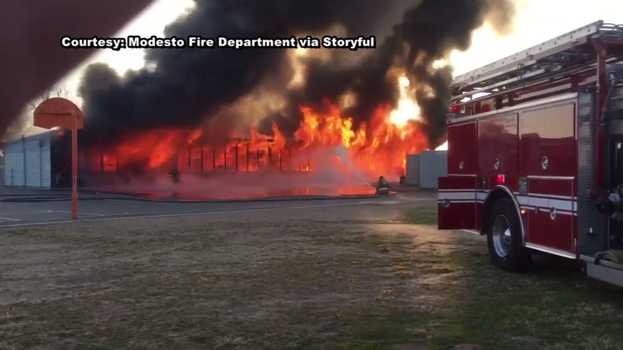 Elementary school fire