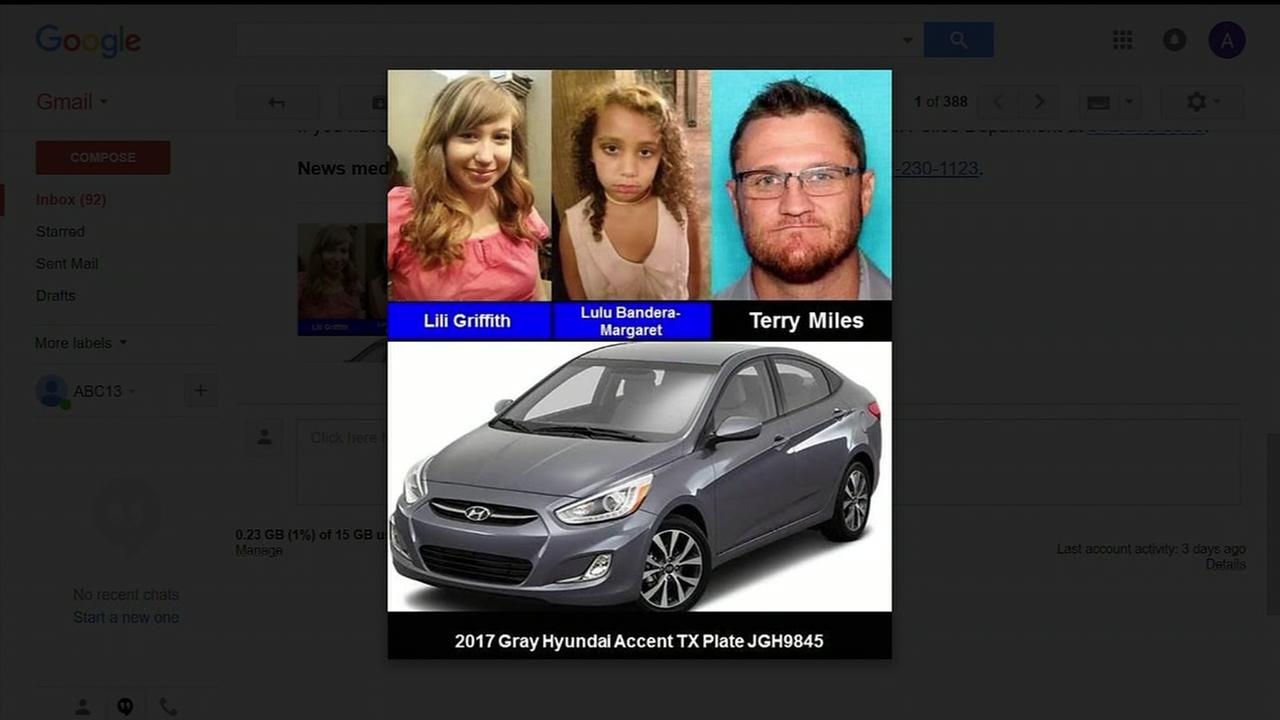 Amber Alert issued for two children missing from Round Rock