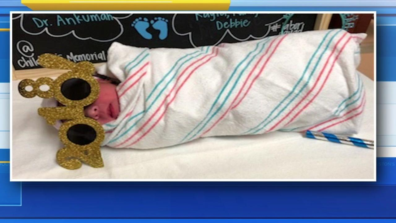 First Houston babies born in the New Year