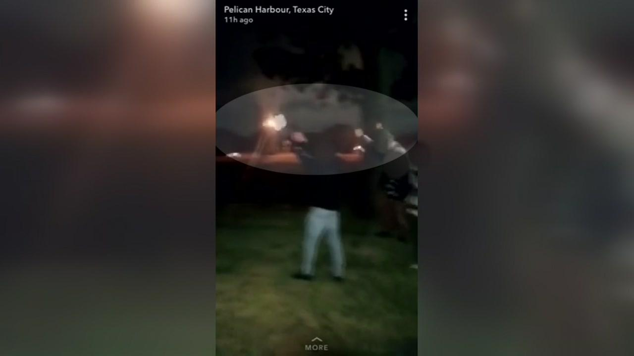 Man firing gun in Texas City recorded on social media
