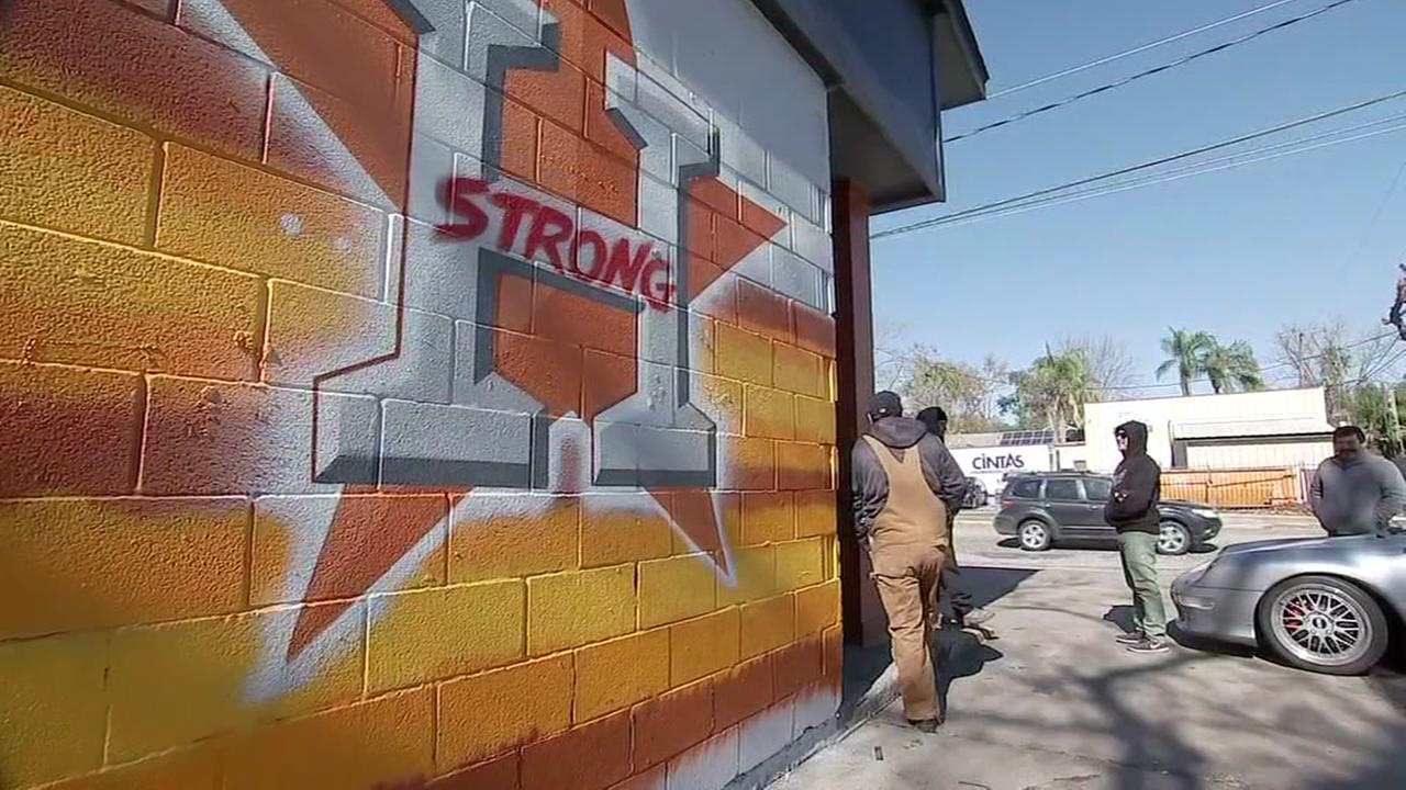 New mural pays tribute to Houston Astros World Series win