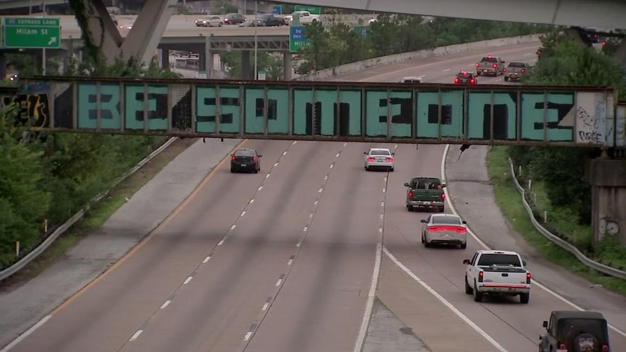 Man petitions for protected landmark status for Be Someone sign