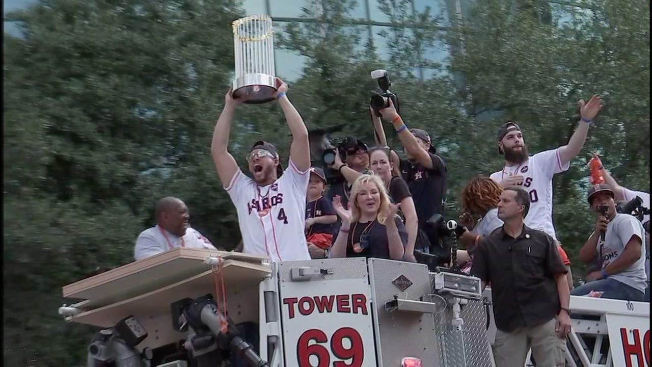 Astros trophy tour