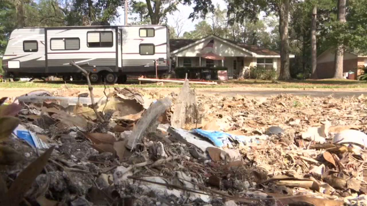 FEMA trailers not allowed in some neighborhoods