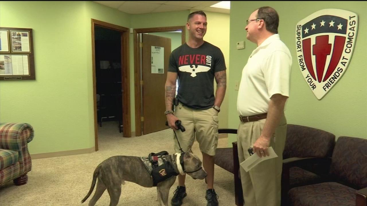 Non-profit group helping young veterans with PTSD