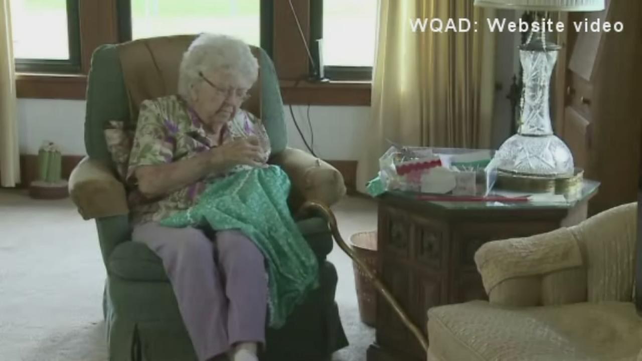 99-year-old dress maker