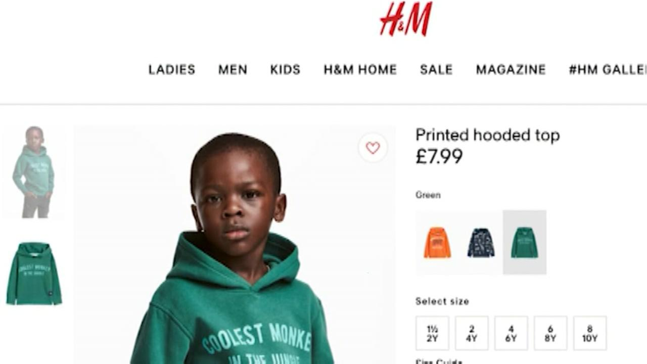 H&M apologizes for using black child with Coolest monkey in the jungle slogan