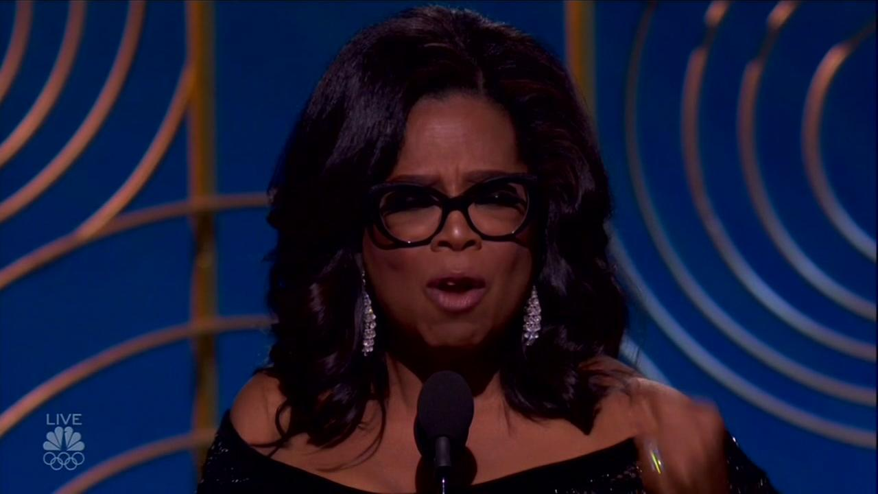 Social media goes crazy with idea of Oprah Winfrey running for president