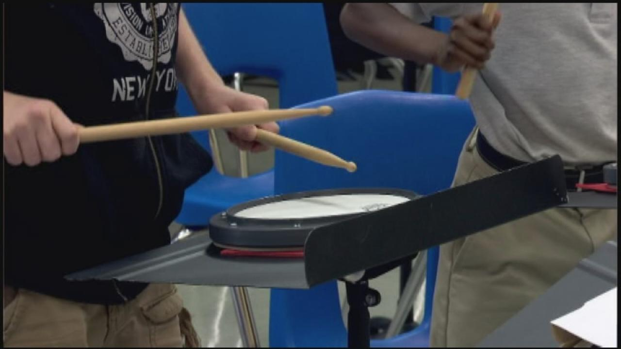 Band director tries new approach to raising funds