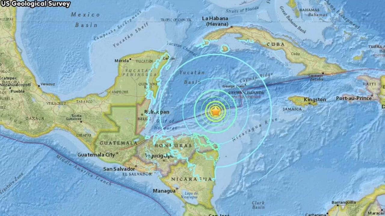 Strong 7.6-magnitude quake shakes off Honduras