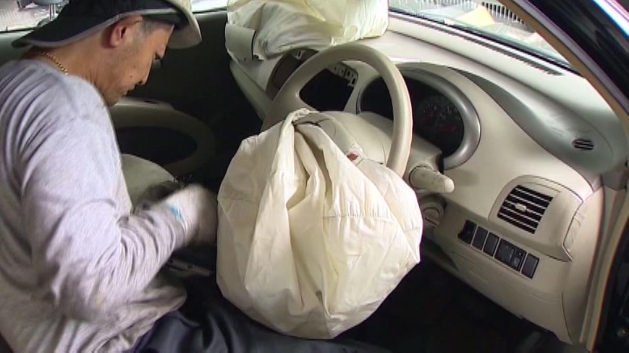 Takata expands air bag recall