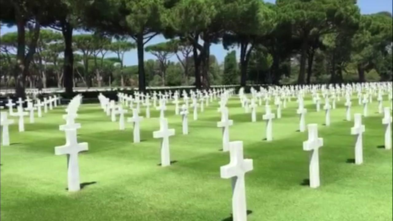 Burial for WWII soldier from Texas