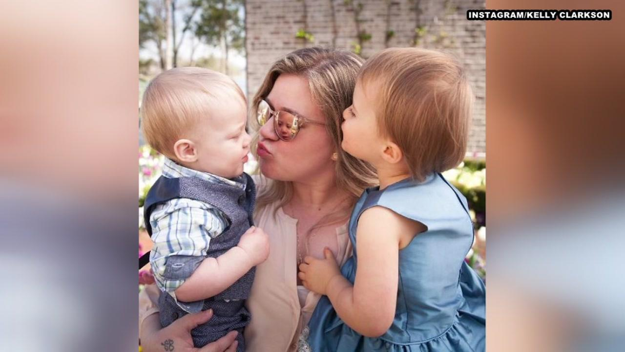 Kelly Clarkson defends spanking her kids, takes social media backlash