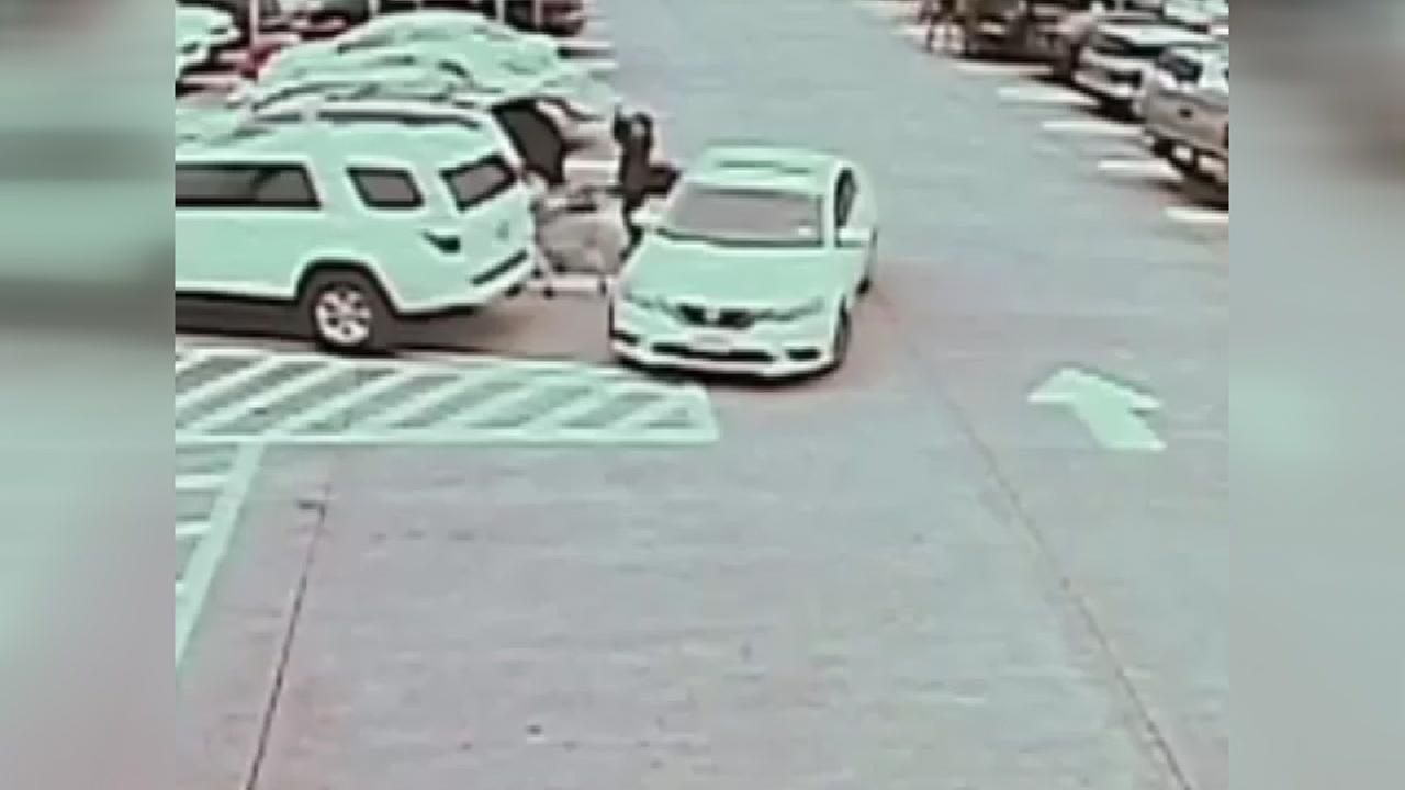 Guy steals purse from grocery store