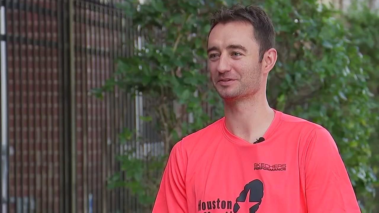 Zach is an elite runner in Houston