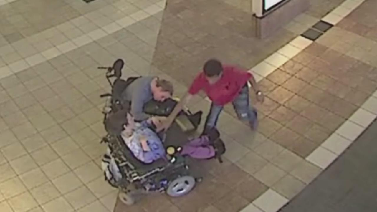 Heartless robber preys upon handicapped couple
