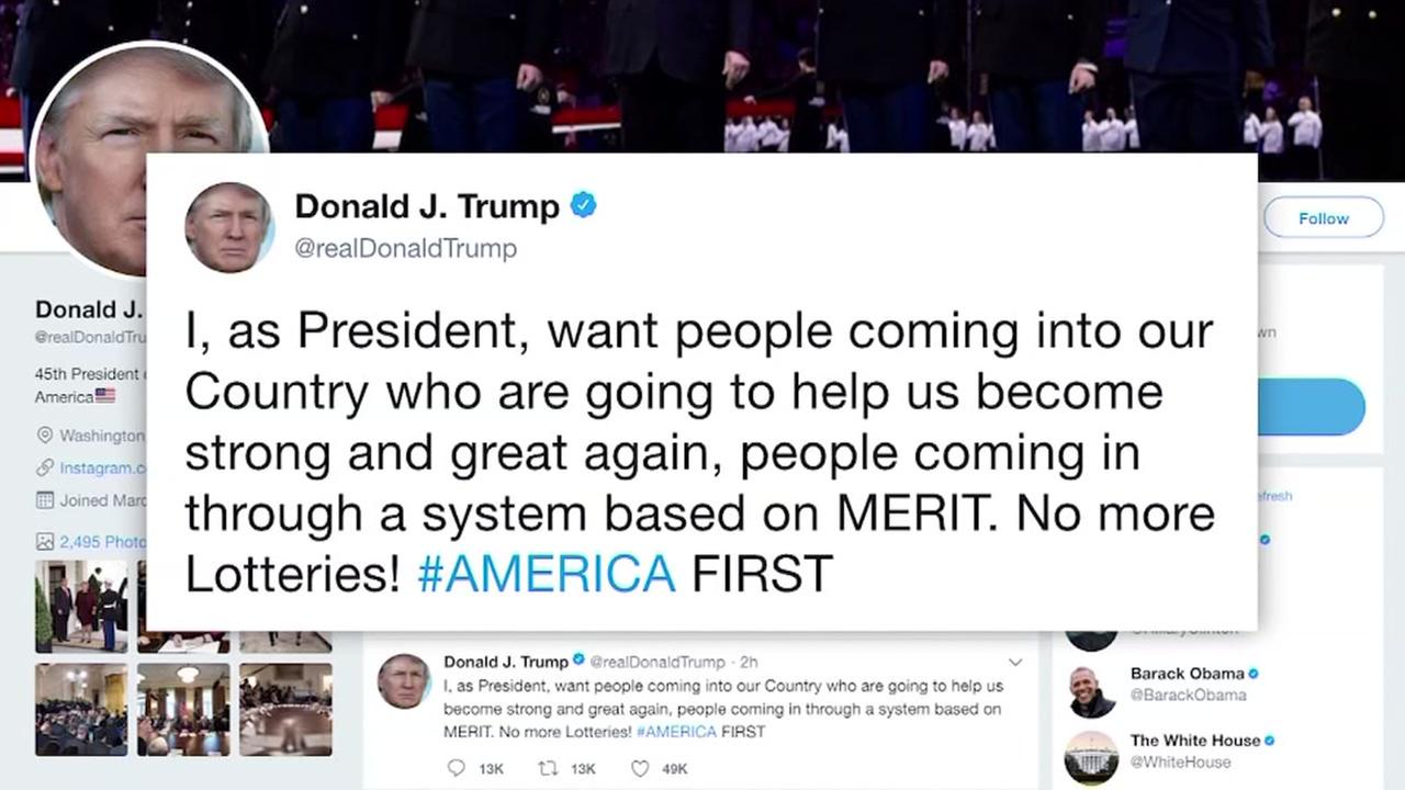 President Trump on DACA deal