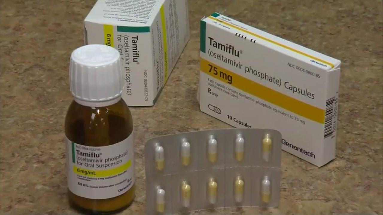 Girl suffers severe side effects from Tamiflu
