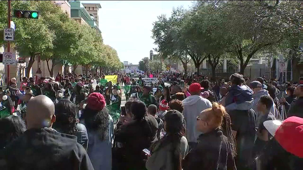 MLK Day celebrations in Houston