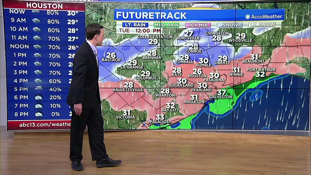 Travis Herzogs update on wintry weather