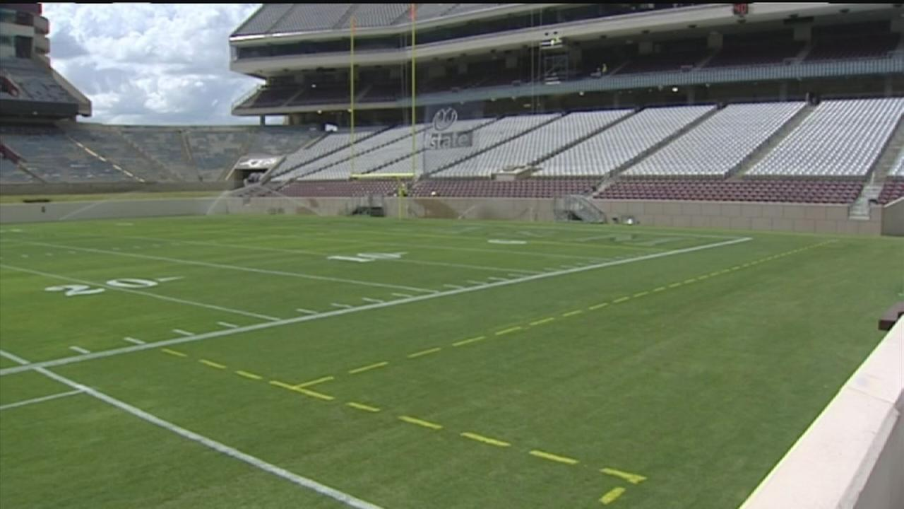 Its a whole new Kyle Field