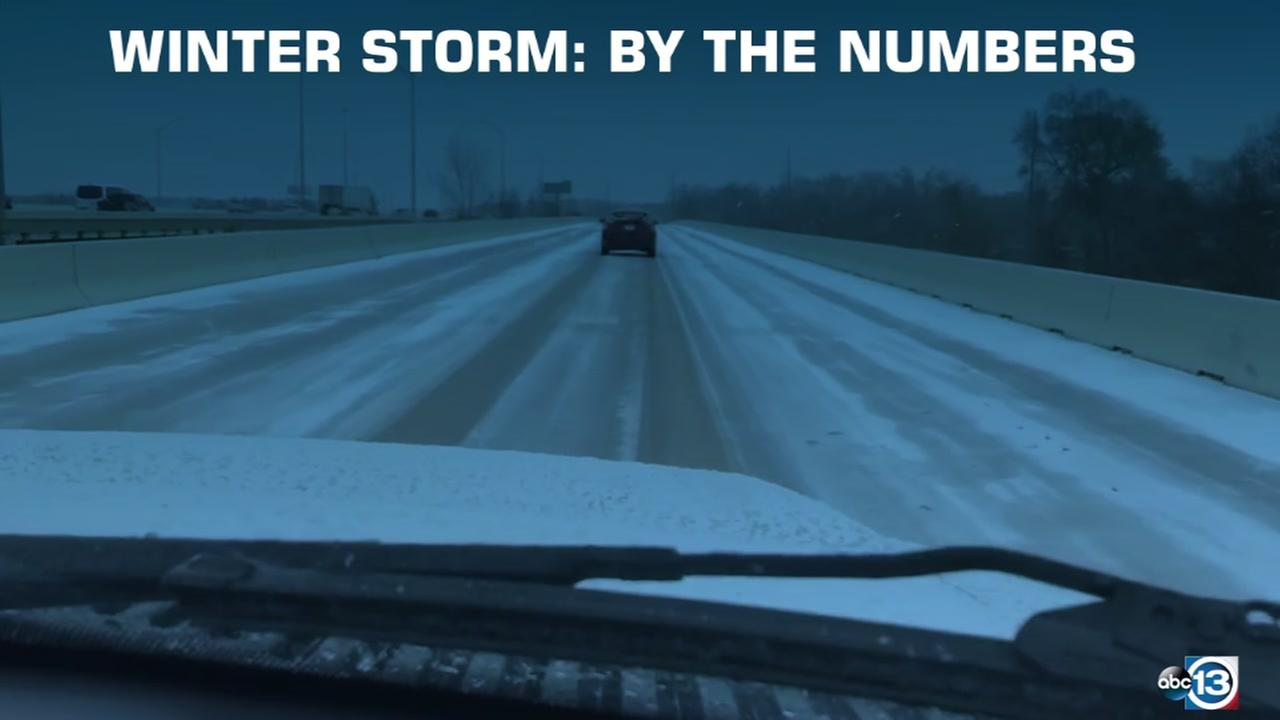 Winter storm 2018: By the numbers