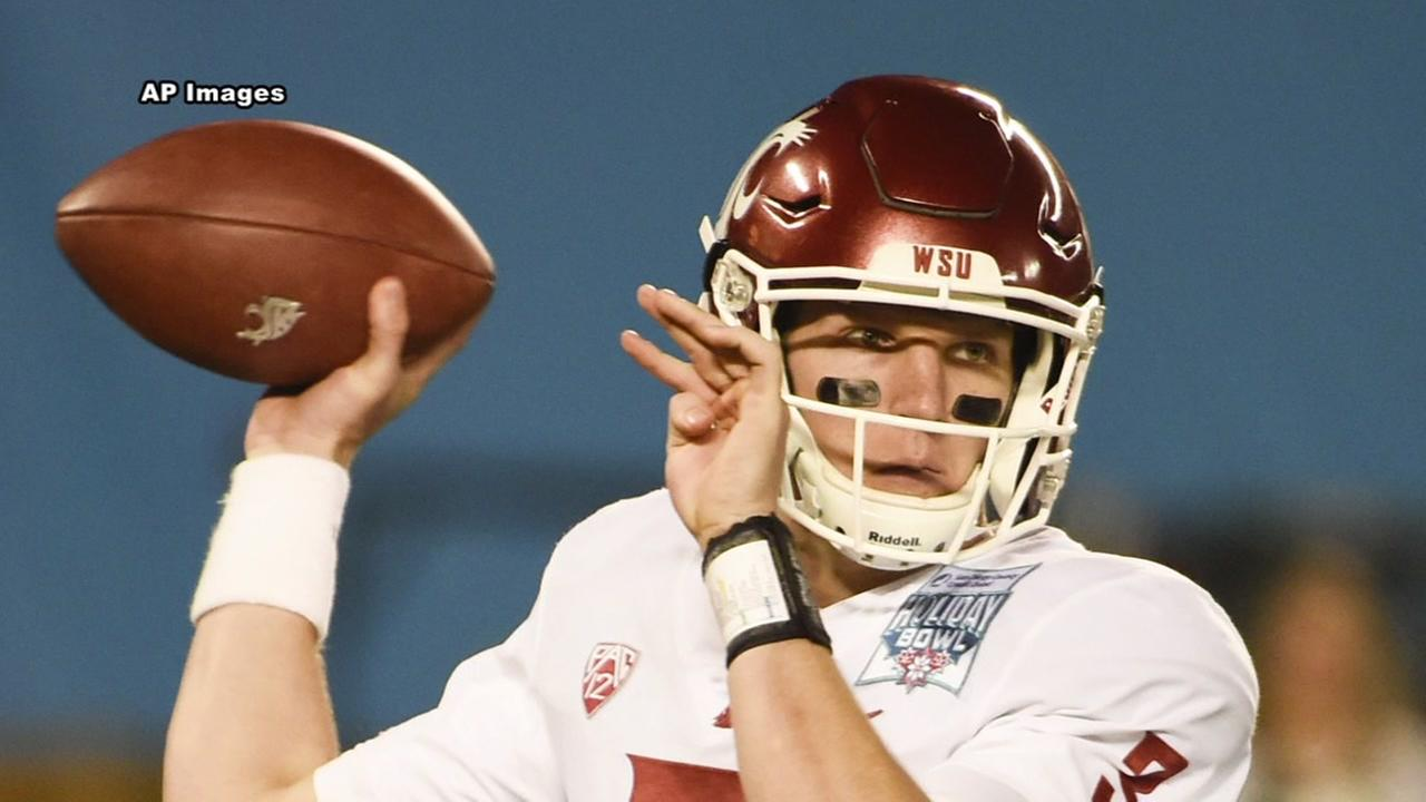 Washington State quarterback found dead