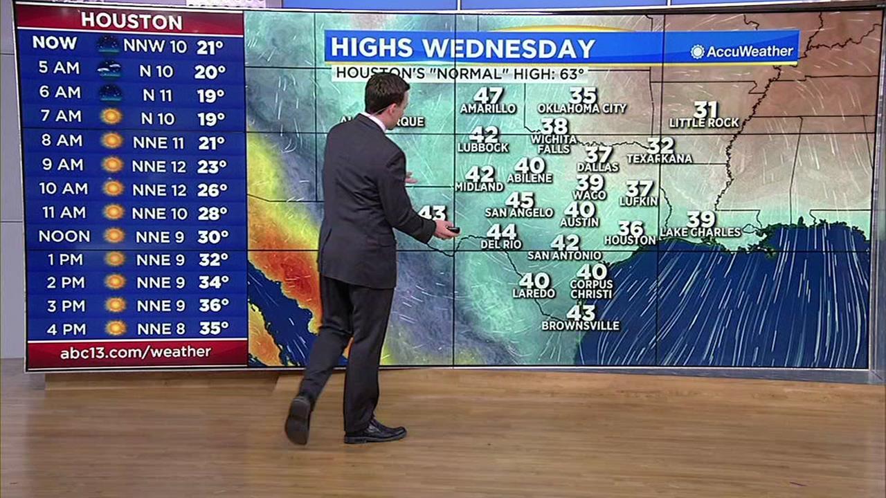 Travis Herzogs update on winter weather storm