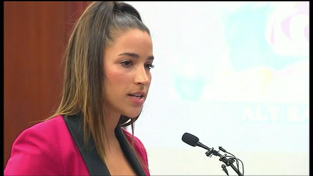 Aly Raisman delivers victim impact statement and much more at trial for Larry Nassar
