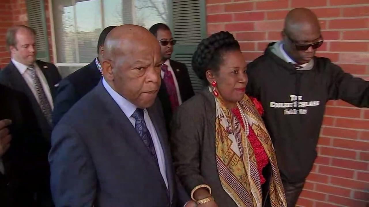 Congressman John Lewis talks justice reform in Houston