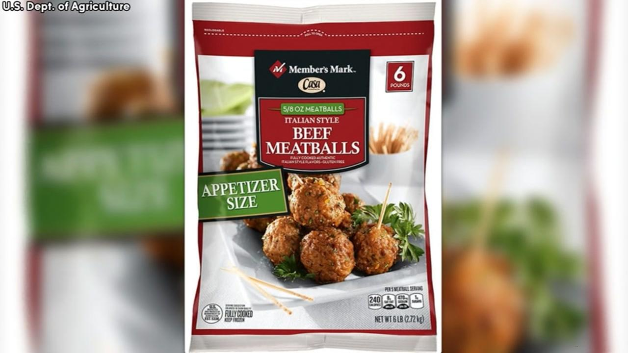 Meatballs shipped to Texas recalled over listeria