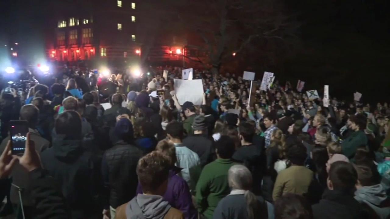 Michigan State protest