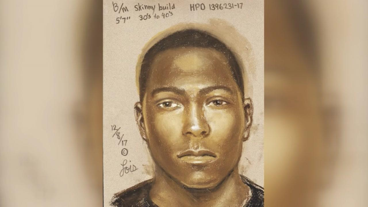 Houston police are asking for help in identifying a suspect for the brutal rape of a woman on the north side