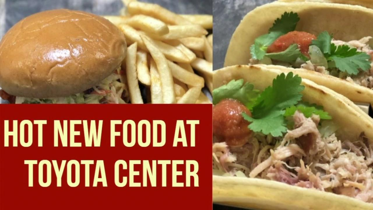 Toyota rolls out some new food items