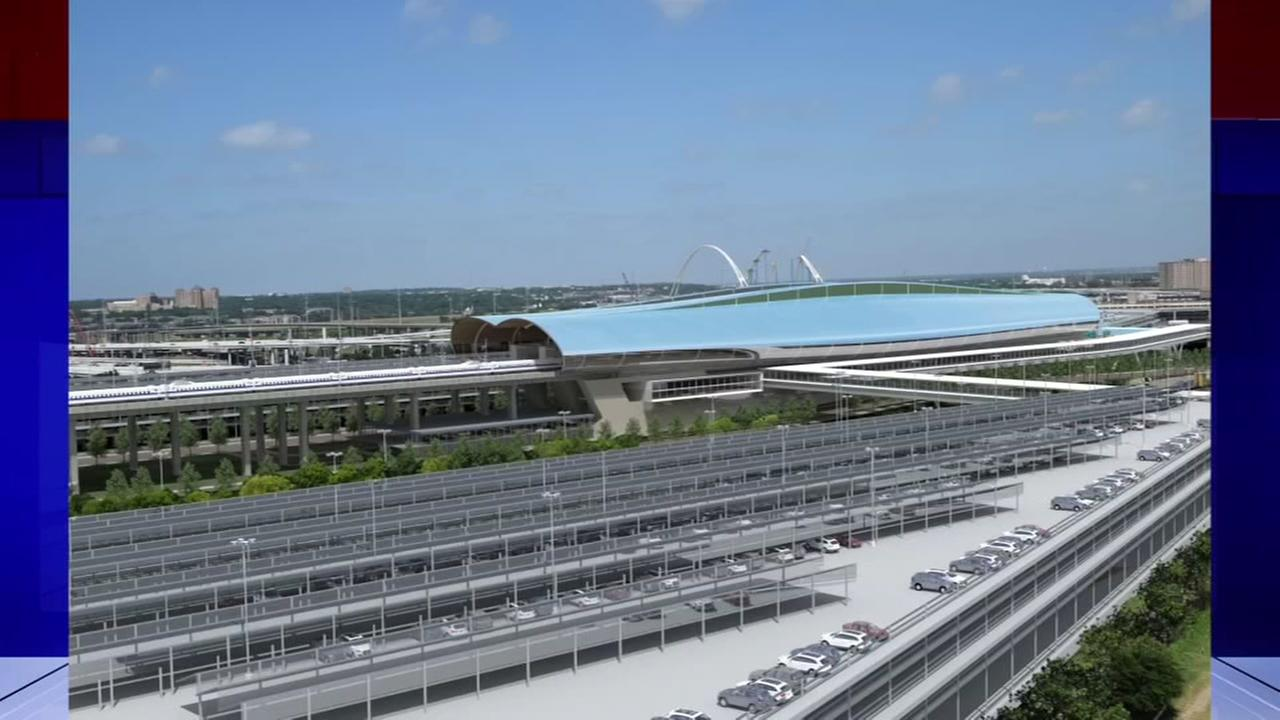 Renderings reveal new Dallas bullet train