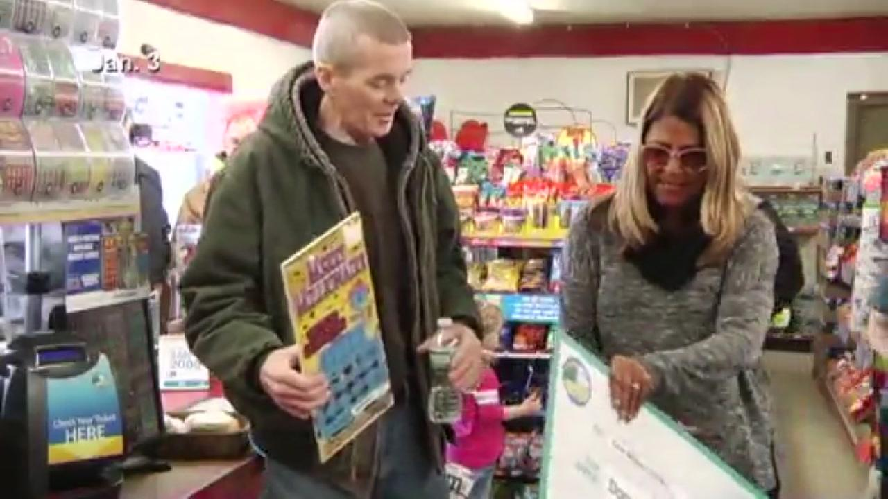 New York man wins a million dollars on a scratch-off ticket, diagnosed with cancer