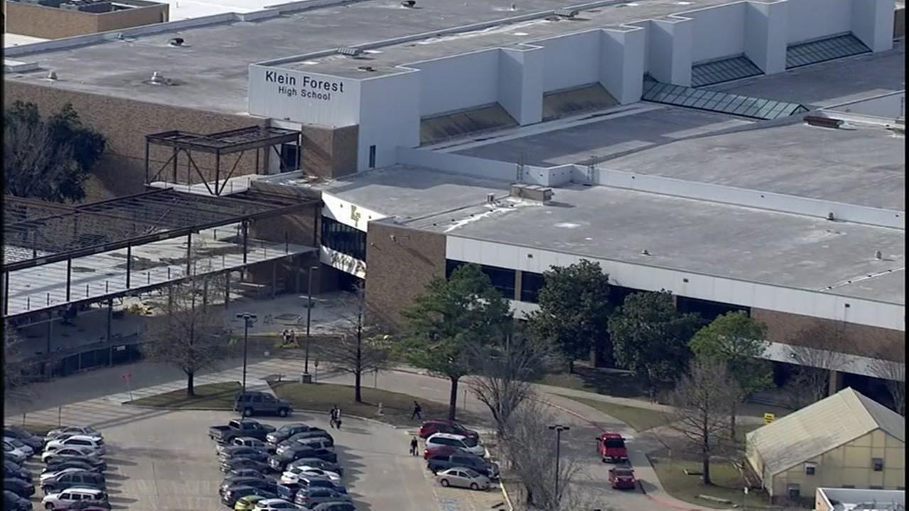 Suspicious person reported near Klein Forest HS